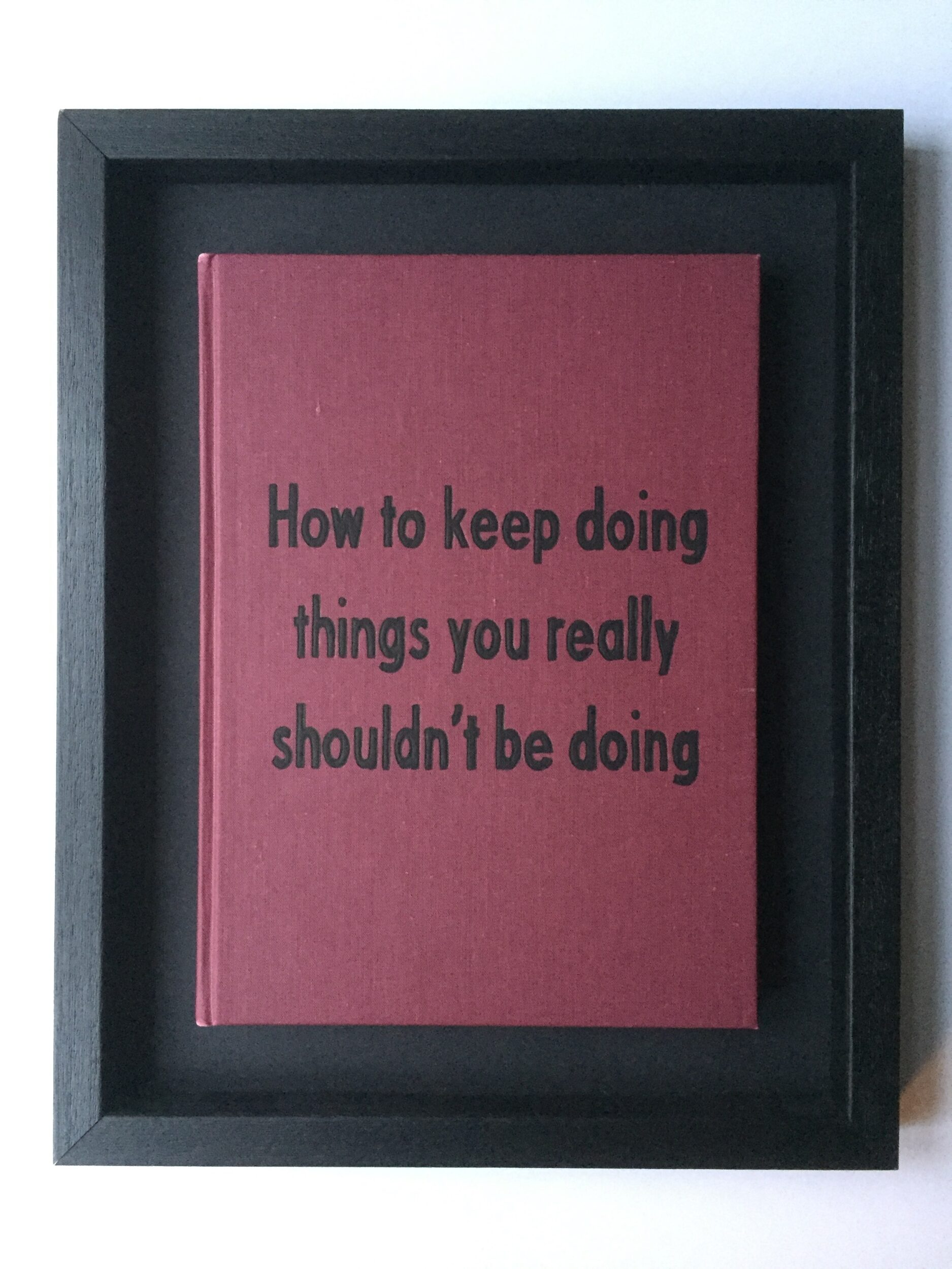Things You Really Should't Be Doing