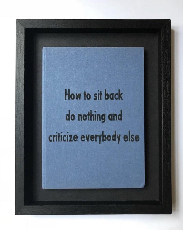 Criticize Everybody Else